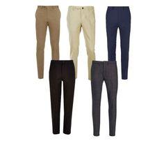 Calças: preta de alfaiataria é um coringa, bege faz um visual clean, marrom pode contrastar com o jeans ou, cinza, marinho (sarja ou alfaiataria)