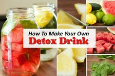 Make Your Own Detox Drink And See What Happens Daily…