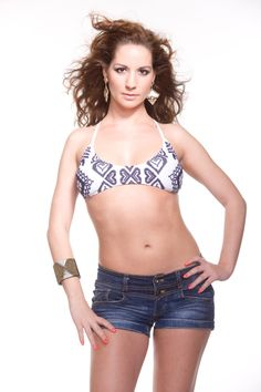 make your own bikini top with folk motifs by diaroshop on Etsy, $45.00