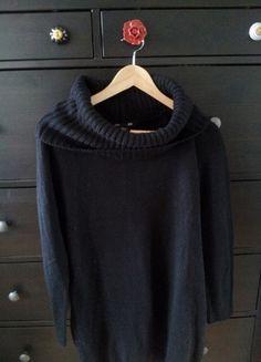 Kaufe meinen Artikel bei #Kleiderkreisel http://www.kleiderkreisel.de/damenmode/rollkragenpullover/90929570-langer-rollkragenpulli-gr-m-hm