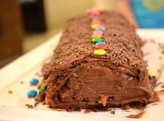 Rocambole de Chocolate - sem farinha