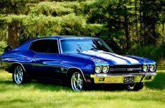 Chevelle SS - beautiful blue! appreciated by Motorheads Performance www.classiccarssanantonio.com