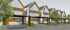 #semarang #residences #townhouse #architecture #homes