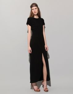 The new black dress... classic yet sexy with modern clean silhouette
