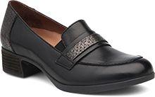 9ef819847ed Womens Lila Heels in Black Antiqued Calf. Dansko ...