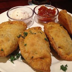 DIY Recipe | Beef & Cheese Empanadas VIDEO :: This authentic recipe calls for Sazon, a seasoned salt found in Spanish and Mexican markets. Typical ingredients include cilantro, achiote, garlic and salt. ... #party #appetizer #mexican food