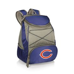 Chicago Bears PTX Backpack Cooler - Navy