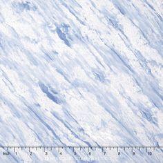 Ice - Snowdrift Ice Metallic Yardage