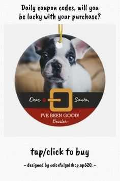 Funny Christmas Santa Dog Photo and Name Custom Ceramic Ornament - tap/click to get yours right now! #CeramicOrnament #funny #christmas #xmas #holiday, #santa Cute Christmas Tree, Funny Christmas, Xmas, Christmas Decorations, Christmas Ornaments, Dog Photos, Family Photos, Santa Suits, Dogs Of The World