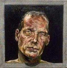 """Outcome"", 50 x50 cm olieverf/ linnen P, Legeland"