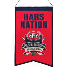 Montreal Canadiens Nation Banner