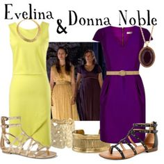 Evelina and Donna Noble from Fires of Pompeii