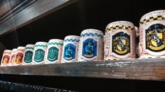 Wizarding World of Harry Potter: Souvenir Shops, Universal Studios #harrypotter #souvenirs #mug