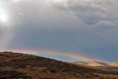 Rainow on the Horizon (rainbow ). Photo by graciegirl