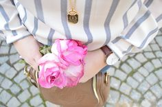 "She Has Class: Preview ""Spring Stripes and Roses"""