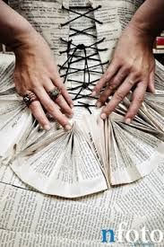 newspaper dresses - Google Search