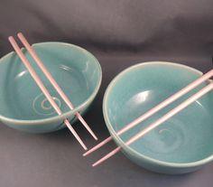 Noodle Bowls, I really miss having my pottery wheel set up