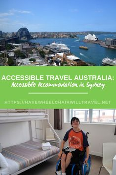 Accessible Accommodation in Sydney: Travelling in Australia with a Wheelchair – 2020 World Travel Populler Travel Country Free Travel, Us Travel, Family Travel, Travel Tips, Sydney Australia, Australia Travel, Cities In Wales, Australian Photography, Harbor Bridge