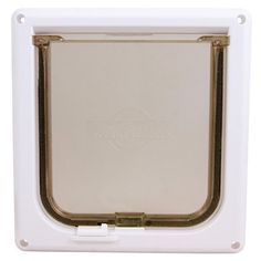 Cat Flap Door - White