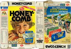 They started putting license plates in the box back in the 70's. Every kid had them on their bike.