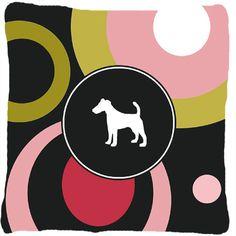 Fox Terrier Indoor/Outdoor Throw Pillow