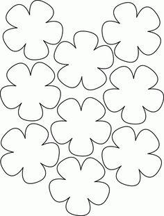 novos moldes de flores para imprimir 2