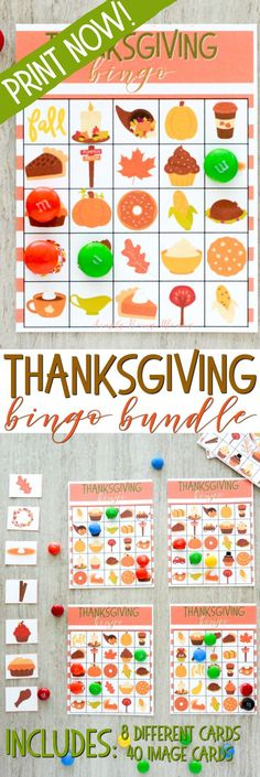 During fall break, Thanksgiving Bingo is a great way to entertain & play with your kids this holiday season. Free printable bundle, get yours now and begin playing right away! #printables #thanksgiving #thanksgivingbingo #thanksgivinggames via @simplymommy