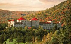 Mount Washington Hotel in Bretton Woods, NH.