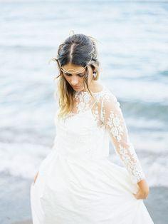 Lakeside Wedding Shoot in New Zealand