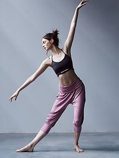 Genie Pant | So-soft, drippy warm-up pants with an easy, loose fit, gathered cuffs, and ruched Performance Seaming down the waistband. American made. Perfect to wear to and from the gym.  *By FP Movement  *FP Movement is an entirely new activewear collection, designed to nourish your mind, body, and free spirit.