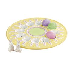 I have this bunny egg plate, and it's adorable!