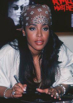 that hair. #aaliyah