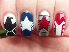 Meg's Manicures: Captain America: The Winter Soldier
