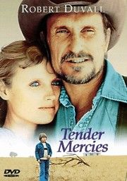 Tender Mercies, 1983.  Mac Sledge (Robert Duvall), a once-famous country western singer, wakes up broke, alone and hung over in a tiny Texas motel run by widowed Rosa Lee (Tess Harper). Having nowhere else to go, Sledge takes a job at the motel, and through the kindness and faith of Rosa he changes his self-destructive ways. He marries Rosa (after he's baptized at her urging) and becomes a father/pal to her son (Allan Hubbard). Given an opportunity to make a comeback, Sledge considers…