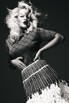 Sunday Times Style Magazine - RITA ORA.  April 2012.  Photography by Damon Baker.