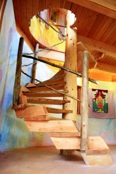 Spiral staircase by Sunray Kelley