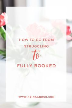 HOW TO GO FROM STRUGGLING TO FULLY BOOKED: THE SOCIAL GLUE METHOD - Click Here! Read the blog post from Reina + Co Life + Biz Success Coach for Creative Entrepreneurs Small Biz Tips, Entrepreneurship, Creatives, entrepreneur mom, brave life, hea