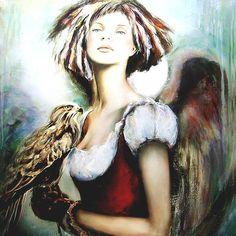 Angel  Paintings of Anna Amrhein, Germany