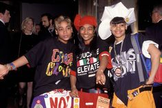 All those times Left Eye wore a giant vinyl hat.