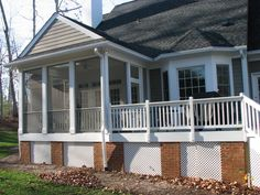decks with sceened porth | Fence Pro - Covered and Screened Porches