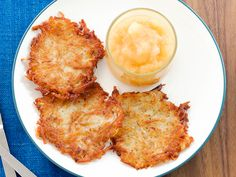 Slightly Adapted Mamo's Potato Pancakes Recipe : Duff Goldman : Food Network - FoodNetwork.com