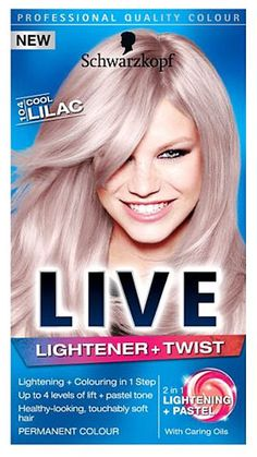 Schwarzkopf Live Lightener and twist 104 Cool Schwarzkopf Live Lightener and twist 104 Cool Lilac (Permanent Colour): Express Chemist offer fast delivery and friendly, reliable service. Buy Schwarzkopf Live Lightener and twist 104 Cool Lilac (Per http://www.MightGet.com/january-2017-11/schwarzkopf-live-lightener-and-twist-104-cool.asp