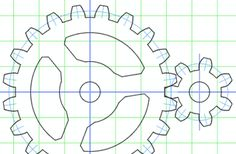 Woodworking Jigsaw How to make wooden gears Woodworking Software, Woodworking Jigsaw, Woodworking Workshop, Woodworking Projects Plans, Teds Woodworking, Wooden Gear Clock, Wooden Gears, Wood Clocks, Gear Template