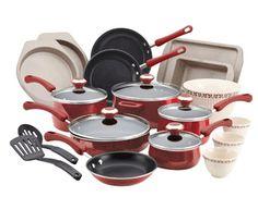 Walmart: Paula Deen 23 pc Porcelain Enamel cookware set $99 shipped