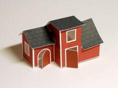 Free printable little toy barn