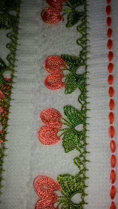 Hacer Needle Lace, Crochet Trim, Baby Knitting Patterns, Needlework, Diy And Crafts, Embroidery, Projects, Embroidery Stitches, Lace