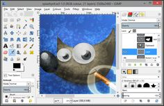The Gimp - 10 Free Drawing Software Worth a Try - EnkiVillage
