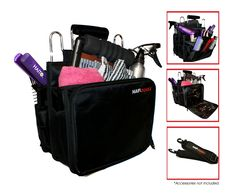Hair Tools Session Bag - Bags & Cases - Hair. Designed to hold a variety of hairdressing and/or beauty tools and equipment