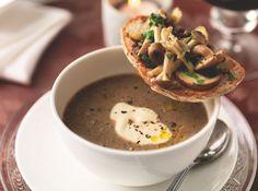 Wild mushroom soup - Candis