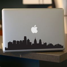Philadelphia Skyline Decal Sticker Car Window by urbandecal Philadelphia Skyline, Philadelphia Shopping, Outline Pictures, Philly Style, New York Pictures, New York City Travel, Car Stickers, Laptop Stickers, Brotherly Love